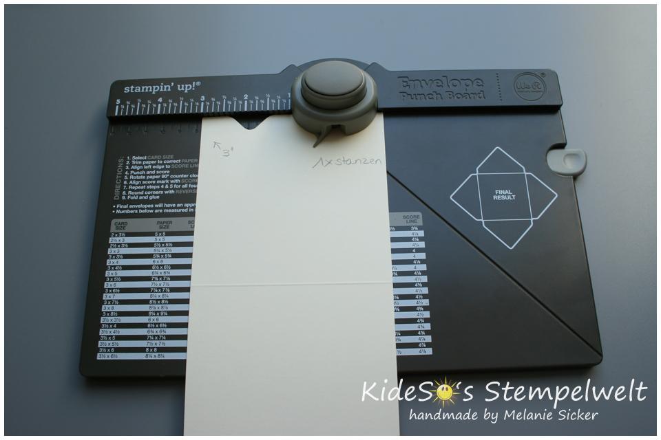 Anleitung Geldkarte mit EPB, Stampin' Up Bocholt, Nr 3
