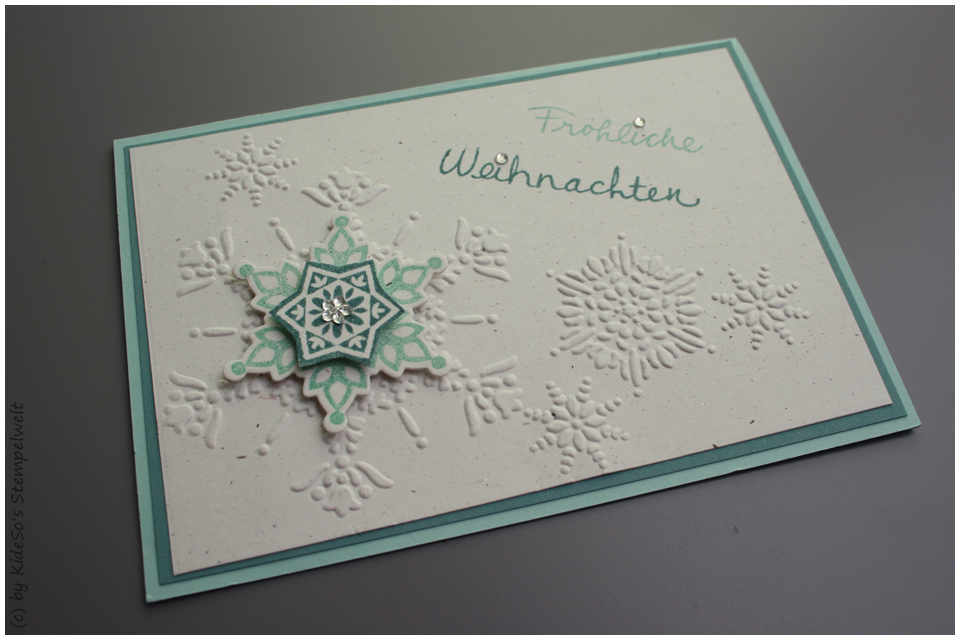 Karte Wünsche zum Fest, Festive Flurries