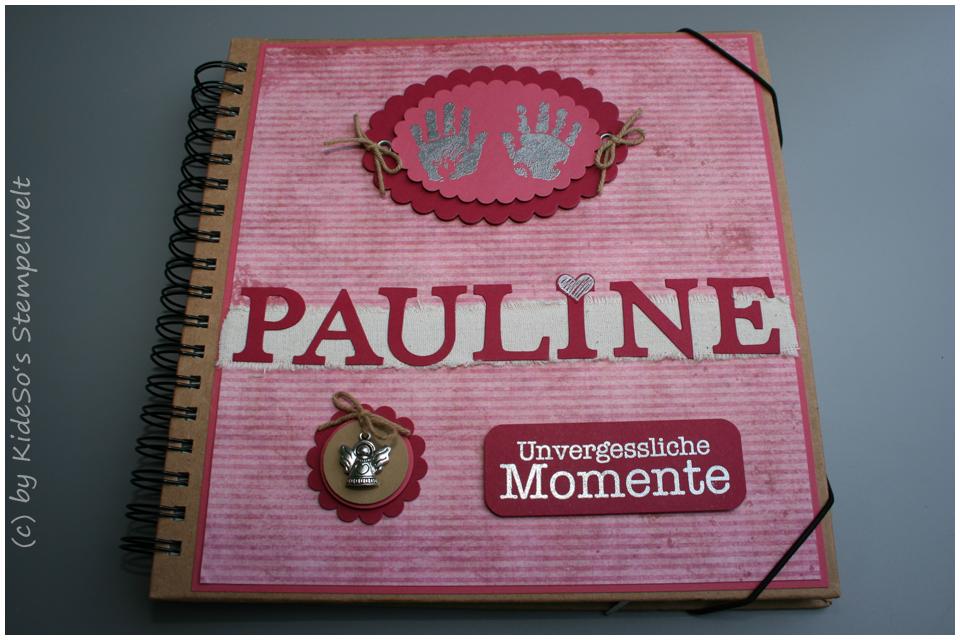 Babyalbum Kidesos Stempelwelt Stampin' Up! Pauline