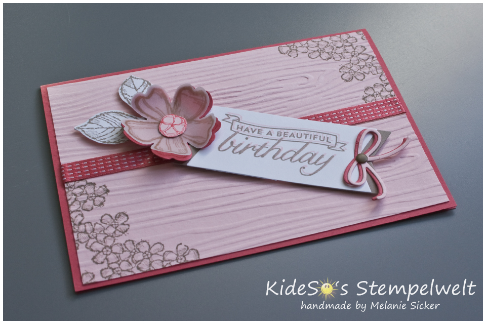Birthday Blossoms, Stampin UP Bocholt, Kidesos Stempelwelt