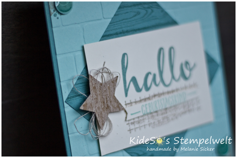 Freaky Friday Stampin' Up Bocholt Timeless Textures Kidesos