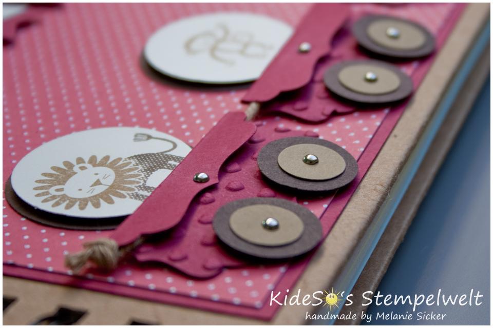 Zoo Babies Stampin' Up!, Babyalbum, Details, Kideso's Stempelwelt Bocholt