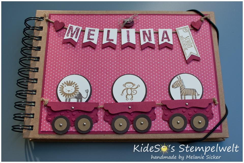 Zoo Babies Stampin' Up!, Babyalbum, Kideso's Stempelwelt Bocholt