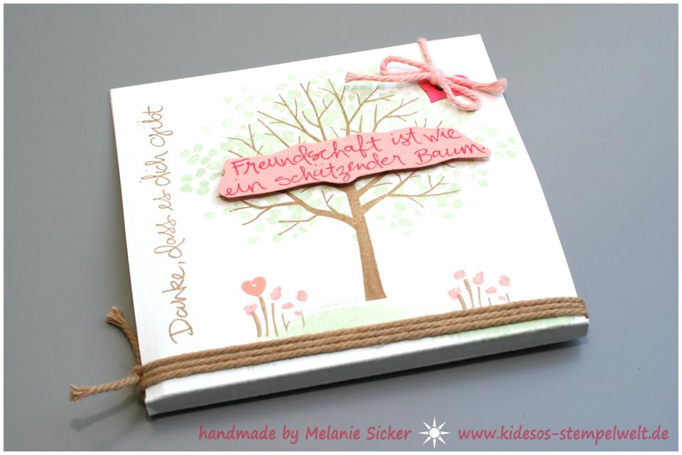Baum der Freundschaft, Stampin' Up, Bocholt, Kidesos Stempelwelt