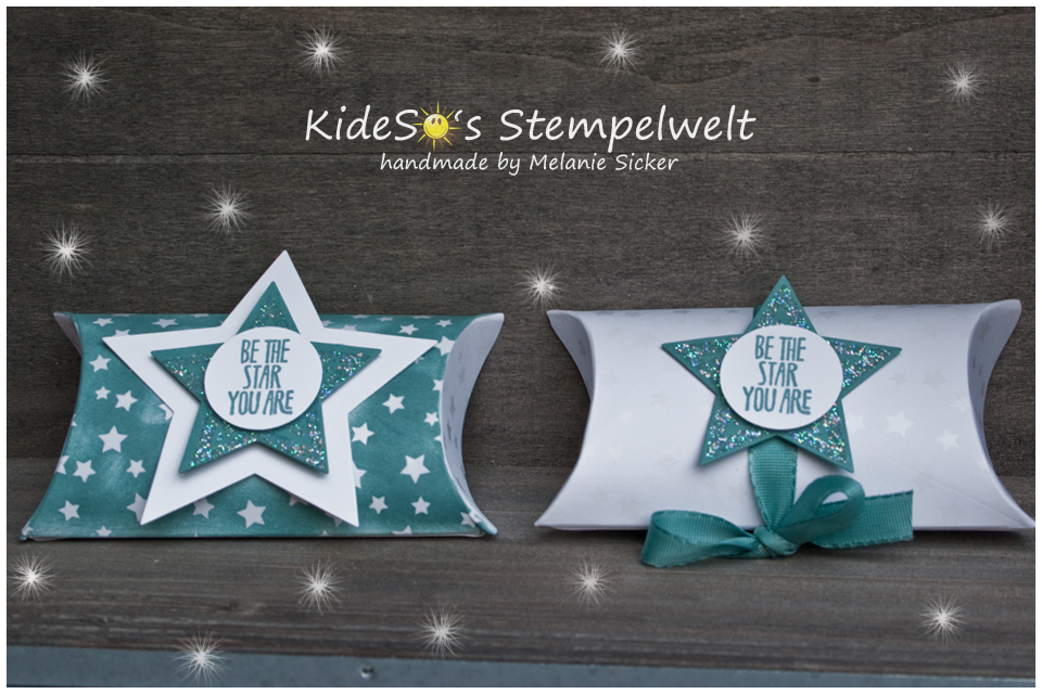Be the Star, Stampin Up Bocholt, Pillow Box