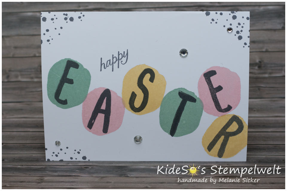 Layered Letters Alphabet Easter, Stampin' Up Bocholt, Kidesos