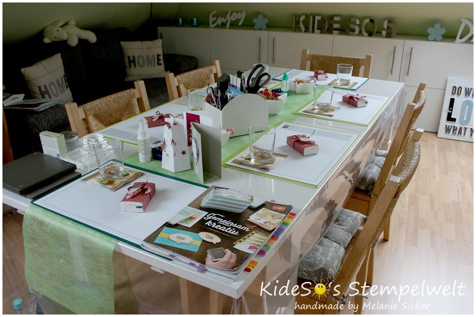 Workshop Kideso's Stempelwelt