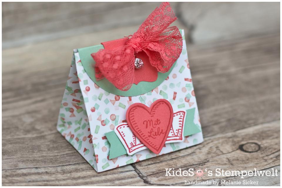 Geschenktüte Bärchengruß Muttertag, Stampin Up Bocholt