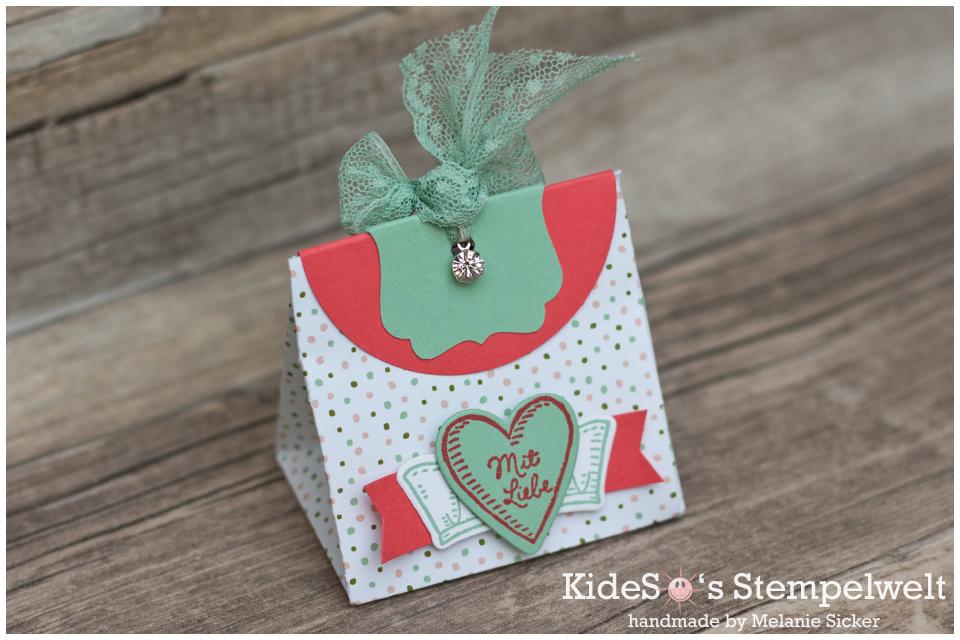 Stanz- und Falzbrett für Geschenktüten, Stampin Up Bocholt