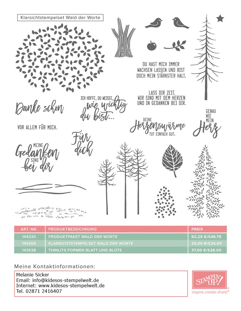 Wald der Worte, Flyer 2