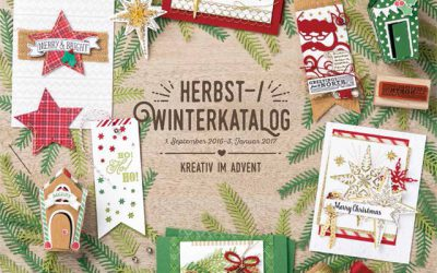 Herbst-/Winterkatalog Stampin' Up!