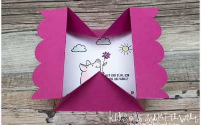 Box Card mit Video-Tutorial