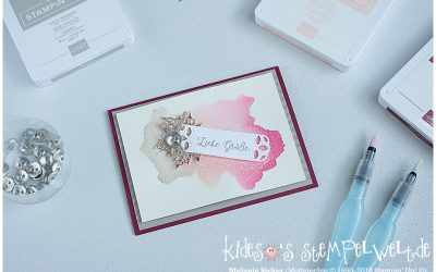 Stampin@first Bloghop Aquarell